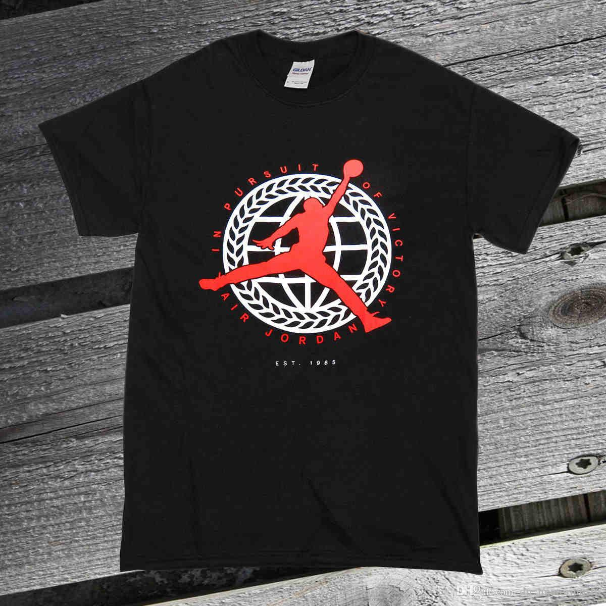 3d24c646e02197 RAREAIRTop Tee IN PURSUIT OF VICTORY BLACK INFRARED WHITE MENS T SHIRT T  Shirt Slogan Daily T Shirts From Dreamatorium16