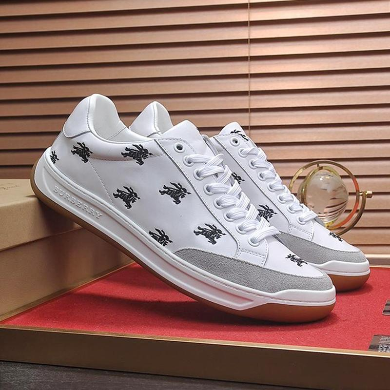 timeless design 0891a 56725 Freizeit Sportschuhe Herren Casual Luxus Sneakers Outdoor Sports Low Heels  Schnüren Perforierte Logo Leder Tennis Turnschuhe Zapatos de Hombre