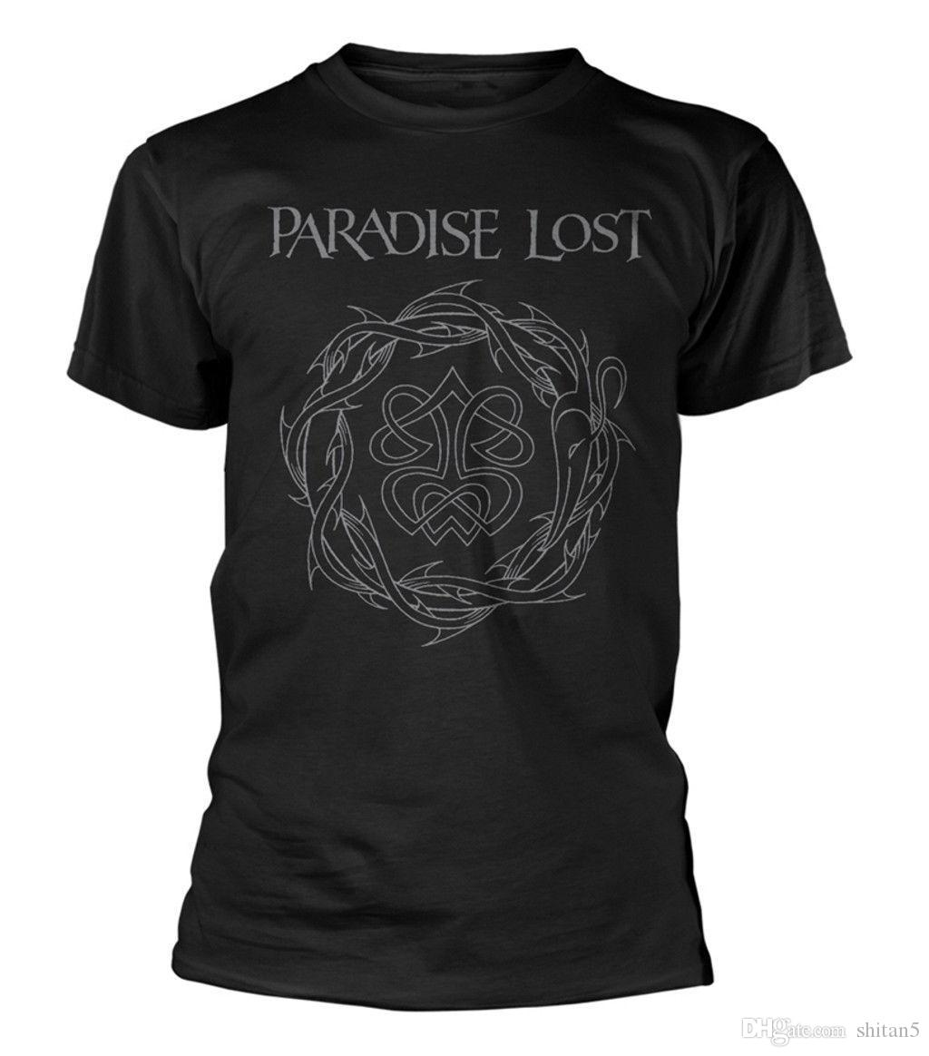 c7f6bd344 Paradise Lost 'Crown Of Thorns' T-Shirt - NEW & OFFICIAL! New Fashion Mens  Short Sleeve T Shirt Cotton T Shirts Cool Short Sleeve Round Neck Online  with ...