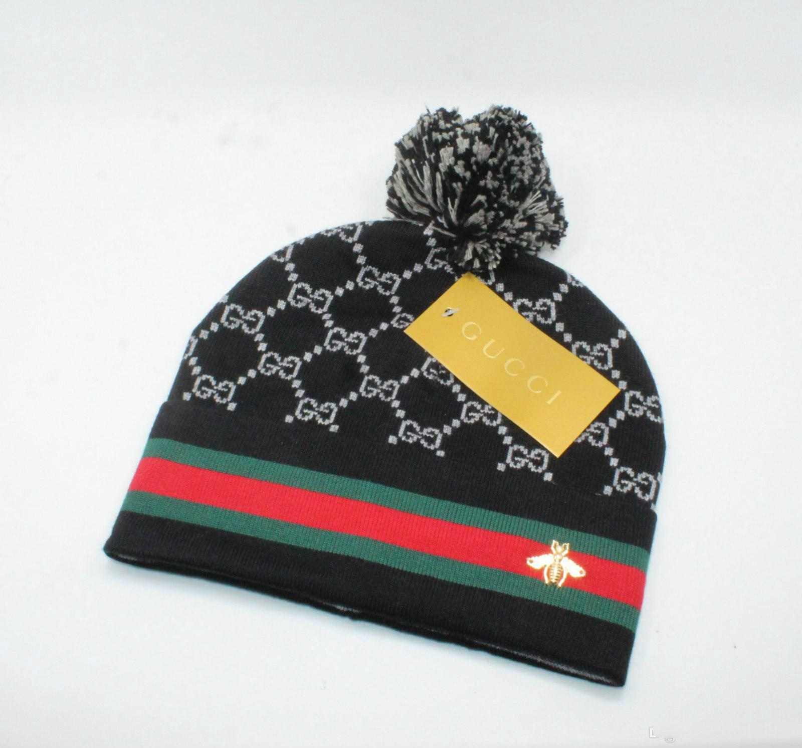 4c258b86e Fashion Unisex Spring Winter Hats for Men women Knitted Beanie Wool Hat Man  Knit Bonnet top quality Beanies hip-hop Gorro Thicken Warm Cap