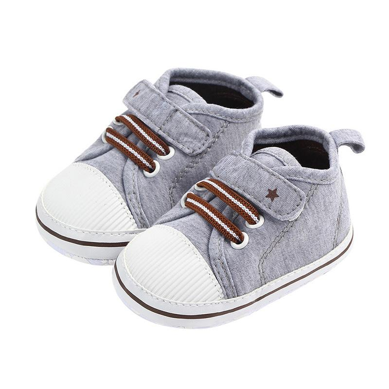 6d5fd1907165c Newborn Baby Girls Boy Cotton Shoes First Walkers Spring Baby Boy Girls  Soft Sole Shoes Infant Crib 0-12 M HOT