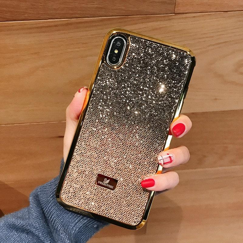 For Apple IPhone XS Max XR Bling Swarovski Case Cover Sparkling Back Bumper  for IPhone 8 7 6 Plus for Women Girls Apple IPhone XS Max XR Wallet Case  for ... d271486b4a