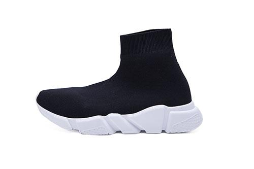 DHL Envío Con caja Hombre y Womens Casual Shoes Zoom Slip-on Speed ​​Trainer Low Mercurial XI Black High Fashion ayuda Calcetines zapatos 8sgh
