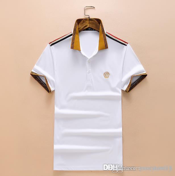 24f23a2503 Luxury Brand Air Force One Top Quality Embroidery Men's Aeronautica Militare  Men Shirts Brand POLO Diamond Fashion Size M-3XLNew Luxury
