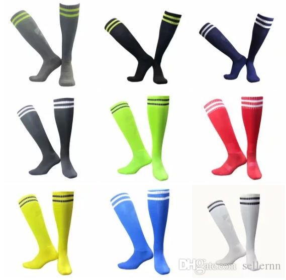 02aceb622 2019 Fashion New Children S And Adult Sports Stockings Soccer Socks Kids  Stocking Soft Cotton Stripe Boys Football Long Socks Fast Shipping From  Sellernn