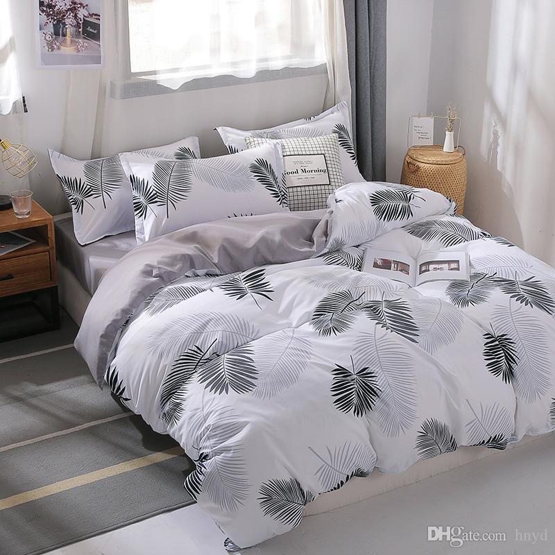 MENGZIQIAN Bedding Set 4-Piece,Fade and Stain Resistant,California King,King,Full,Twin,Small single size,Fashion Multicolor High Quality 02