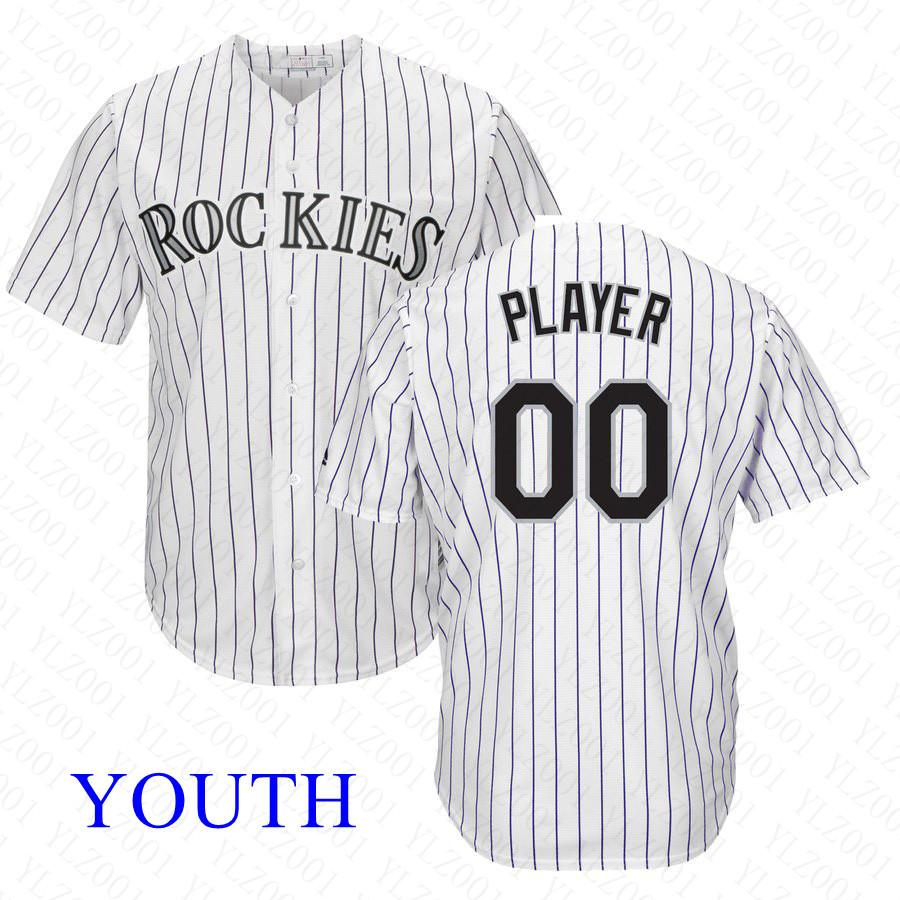 reputable site b947b 89df4 Youth Trevor Story Jersey Custom Rockies Stitched Charlie Blackmon Carlos  Gonzalez Daniel Murphy Kids Nolan Arenado Baseball Jerseys