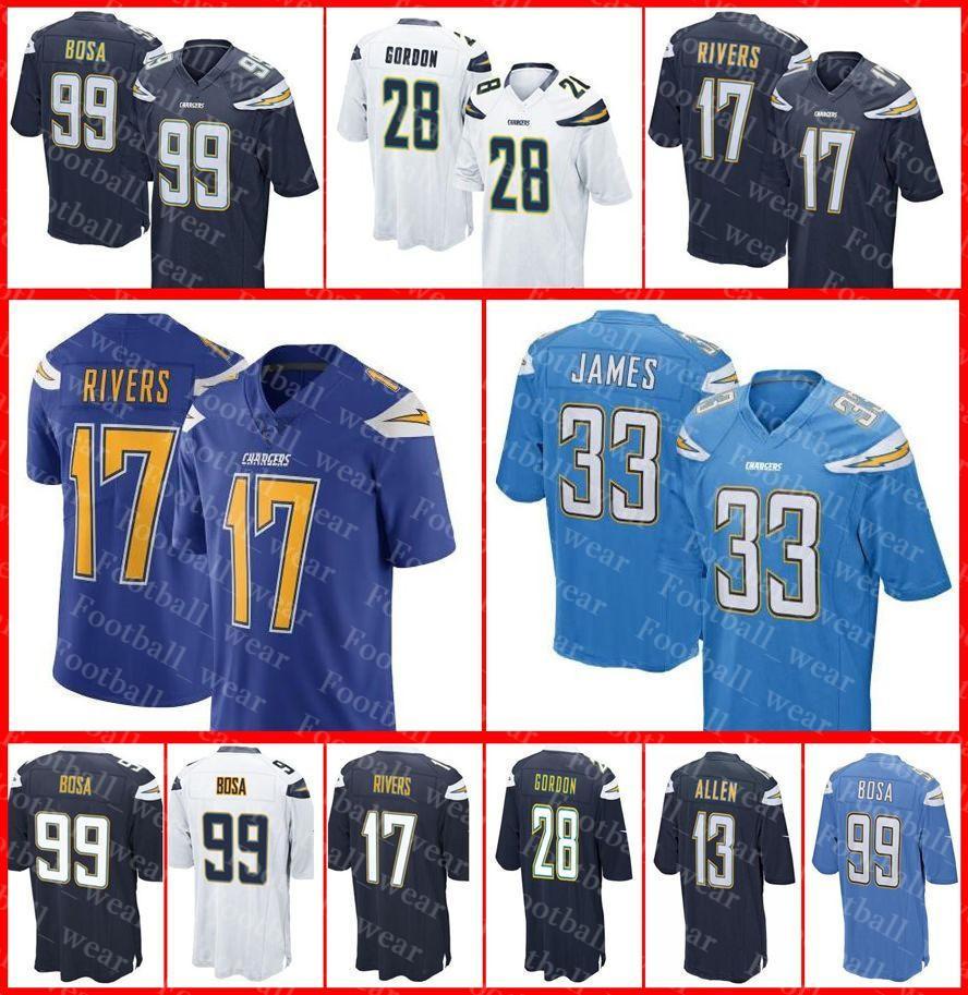 official photos 2d3b5 44d5d Chargers Jersey Los Angeles 2 Easton Stick Lance Alworth 54 Melvin Ingram  Jerry Tillery Antonio Gates 20 Desmond King Football Jerseys
