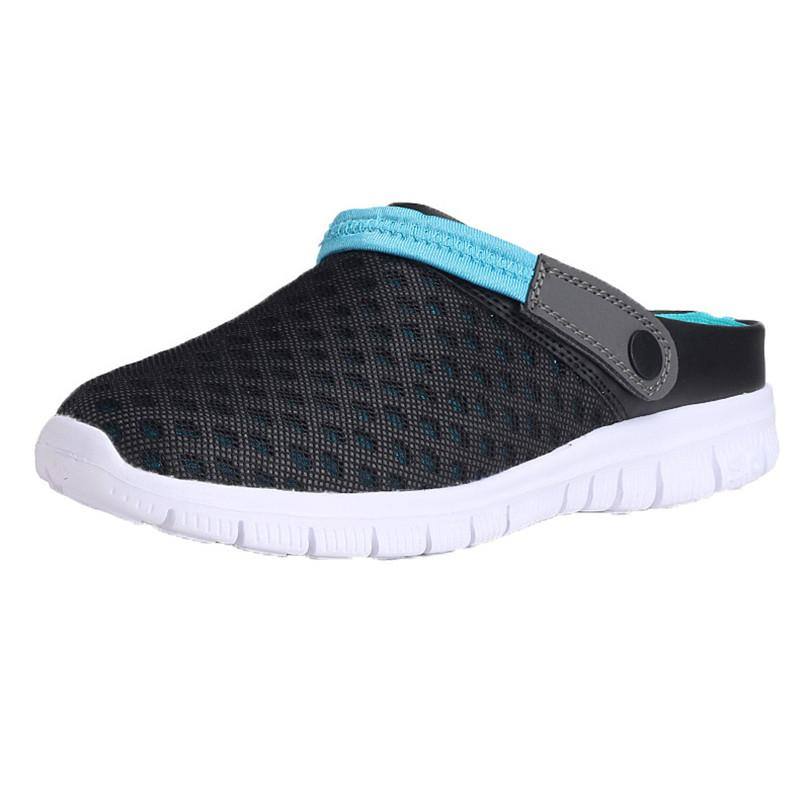 7926f4f9c256 SIKETU Men Women Summer Sandal Mesh Breathable Padded Beach Flip Flops  Shoes Hollow Out Women Shoes Sandals Rain Water A30 Wedge Shoes Womens  Sandals From ...