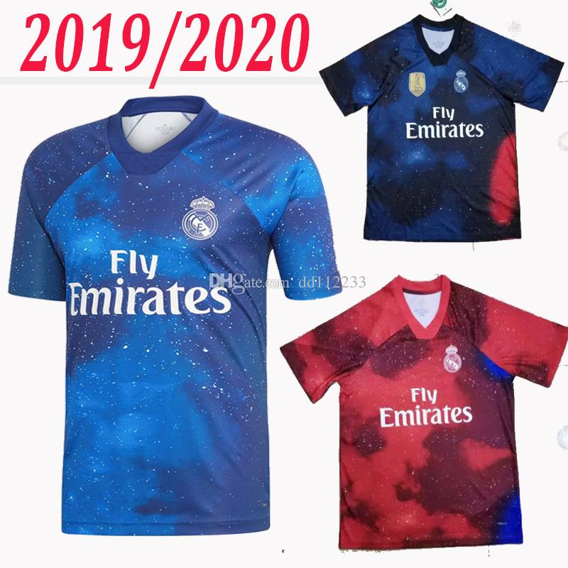 6eedcf21d61 2019 2019 2020 Real Madrid EA Sports Football Sweatshirt ASENSIO MODRIC  Soccer Sweatshirt RAMOS Camiseta 19 20 Real Madrid Commemorative Shirt From  Dd112233 ...