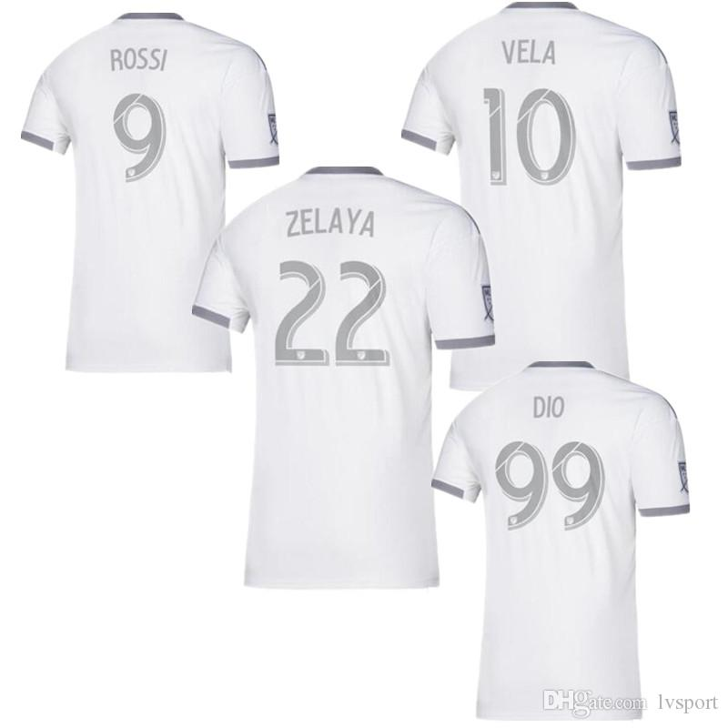 save off d28c2 66f9b Play Version New 2019 LAFC Carlos Vela Soccer Jerseys 19/20 Home X ZELAYA  ROSSI Los Angeles FC BParley Primary WHITE Football Shirts