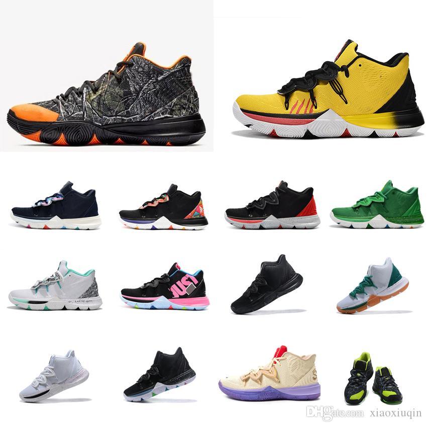 scarpe kyrie uomo giallo