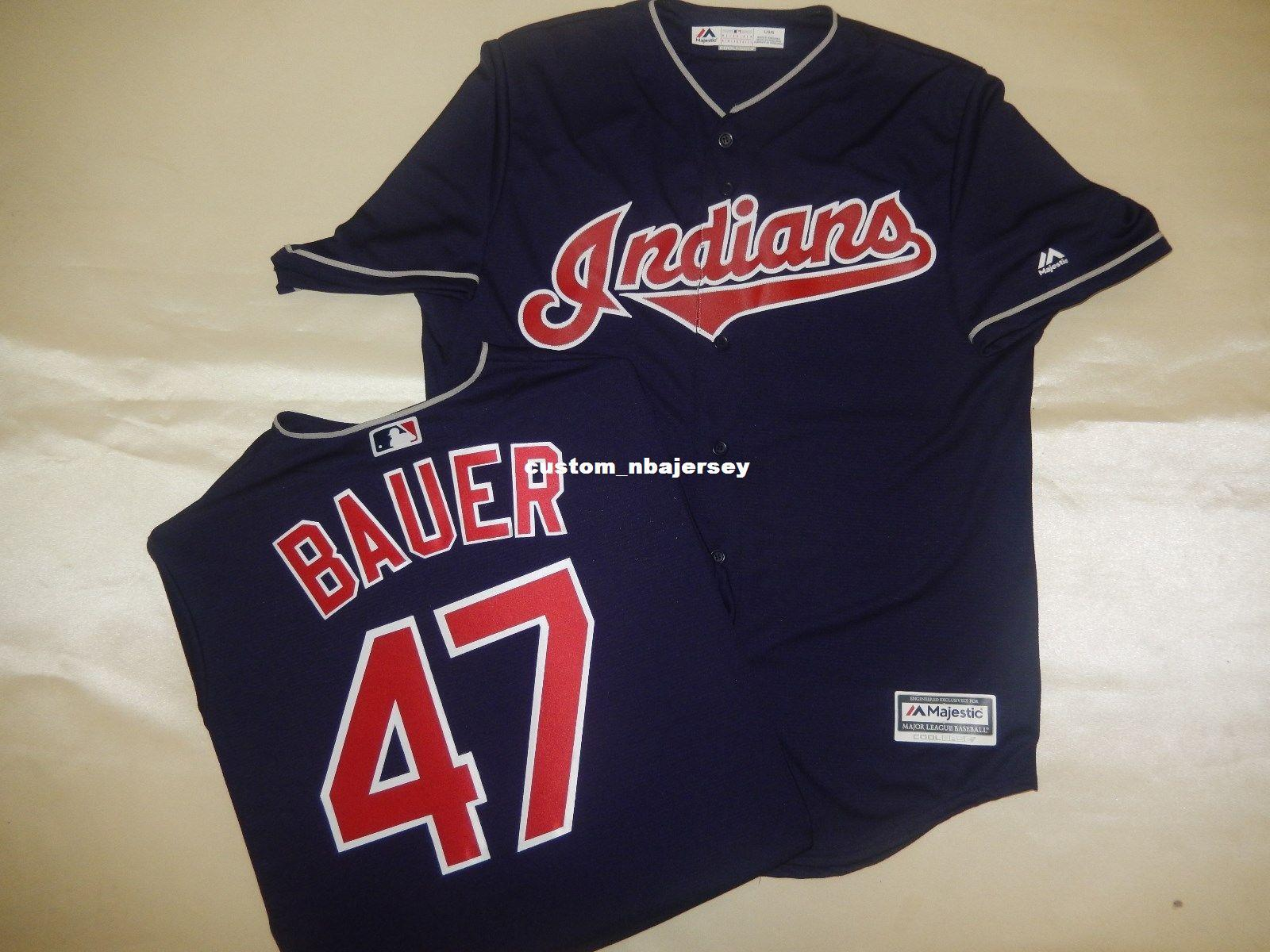 2019 Cheap Custom TREVOR BAUER Sewn Cool Base Baseball Jersey Stitched  Customize Any Name Number MEN WOMEN BASEBALL JERSEY XS 5XL From  Custom nbajersey 6ad4aad1158