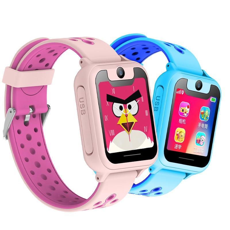 29934c4dc5a5 Reloj Telefono Movil S6 Reloj Inteligente Para Niños LBS Relojes  Inteligentes Relojes Para Bebés SOS Localizador De Localización De Llamadas  Buscador De ...