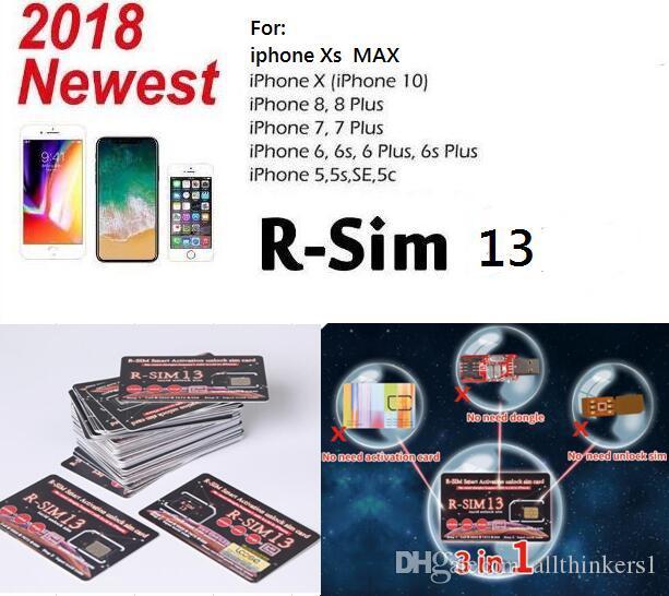 Sim Karte Entsperren Iphone 5.Rsim 13 2018 R Sim Sup Nano Karte Entsperren Für Iphone Xs 8 7 6 6s 4g Lte Ios 11 12