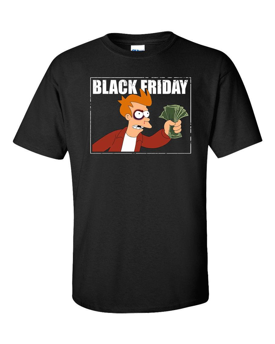 ea5fdd2976aeda Black Friday T Shirt Funny Humor Meme Shopping Christmas Sales Shop Men Tee  New Funny Screen Tees Shirts With Design From Global78