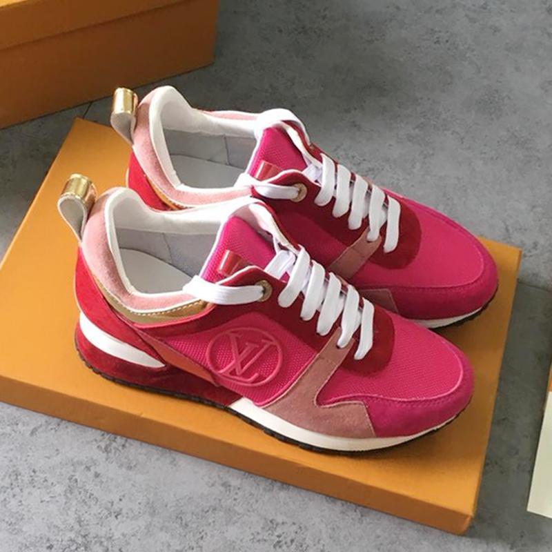 fe232aef Compre Zapatos Casuales De Las Mujeres Zapatos Deportivos De Verano De Alta  Calidad Zapatillas De Deporte Al Aire Libre Low Top Run Away Sneakers  Zapatos ...