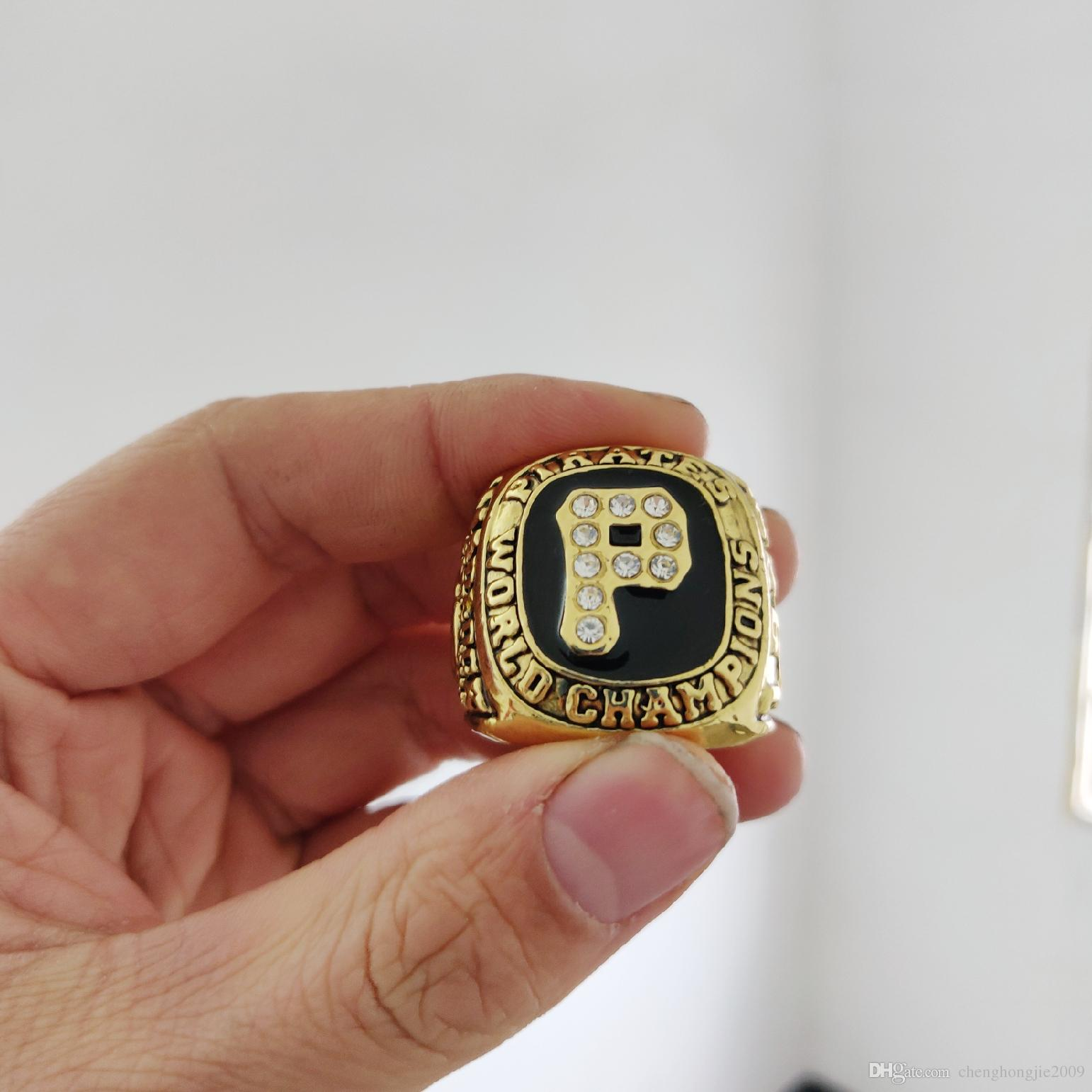 2019 wholesale Pittsburgh 1978-1979 Pirates World Championship Ring TideHoliday gifts for friends