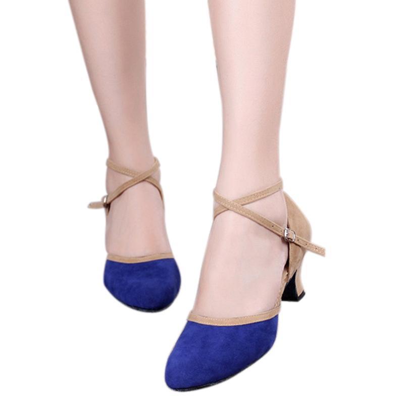 newest 40242 a02d3 Scarpe da ballo latino professionistico da tango da ballo Scarpe da ballo  da donna di alta qualità per ragazze latino-americane Salsa Dance