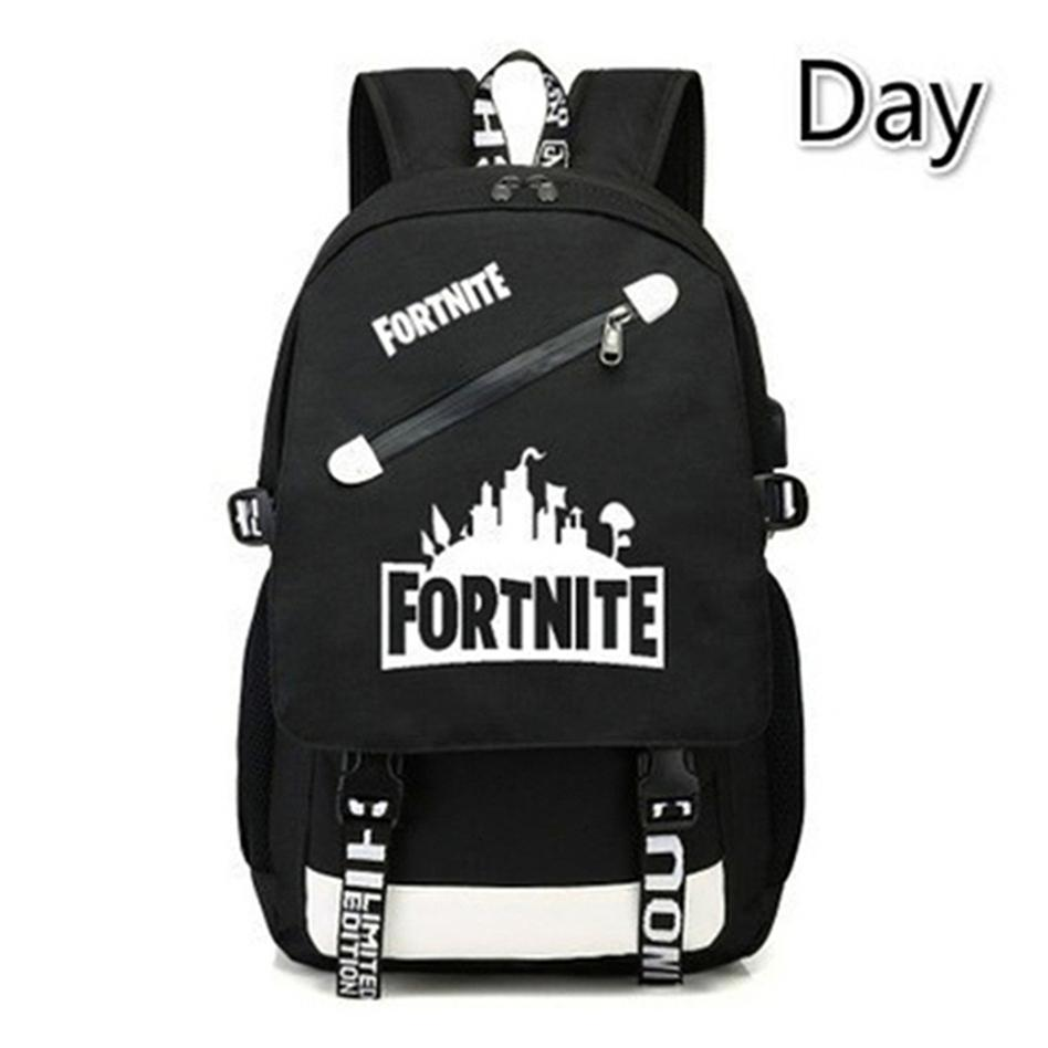 ff511235296 Fortnite BTS Luminous Game Backpack Unisex Student School Book Bag Shoulder  Bag Fortnite Travel Bags Backpacks F92