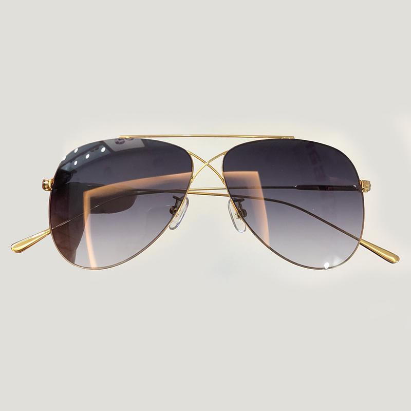 13cd1bfcfe Compre Aleación De Gafas De Sol Ovaladas Para Mujeres 2019 Diseñador De La  Marca Moda Gafas Gafas De Sol Masculino UV400 Gafas De Sol A $83.73 Del  Xailiang ...