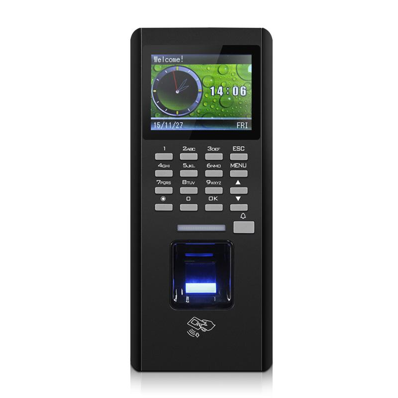 Fingerprint Access Controller,TCP/ RS485 / USB download ,with ID module,  finger Time Attendance,sn:ZK F18