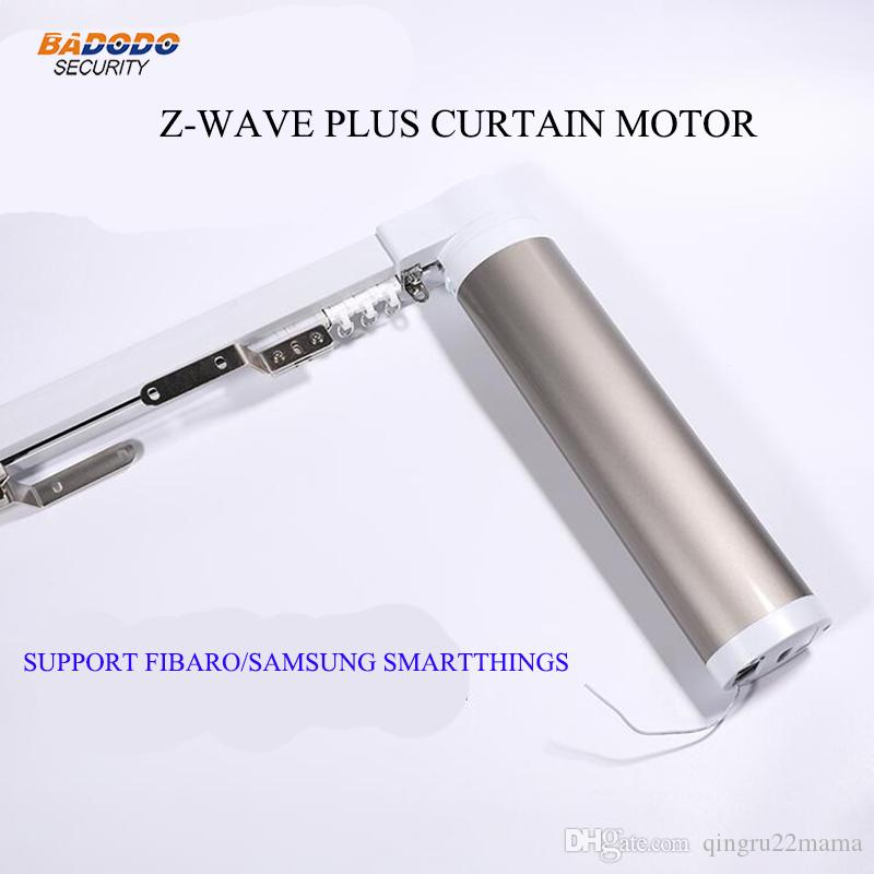 Z-Wave plus Automatic Electric Curtain Motors opener operator driver for  Smart Home Compatible with fibaro samsung smarthings
