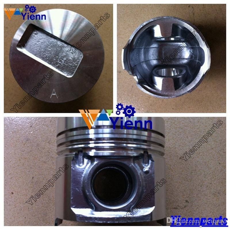 A2300 Piston 4901212 4900737 With Pin and Clips For Cummins engine DOOSAN  DAEWOO D20SC-5 FORKLIFT diesel engine