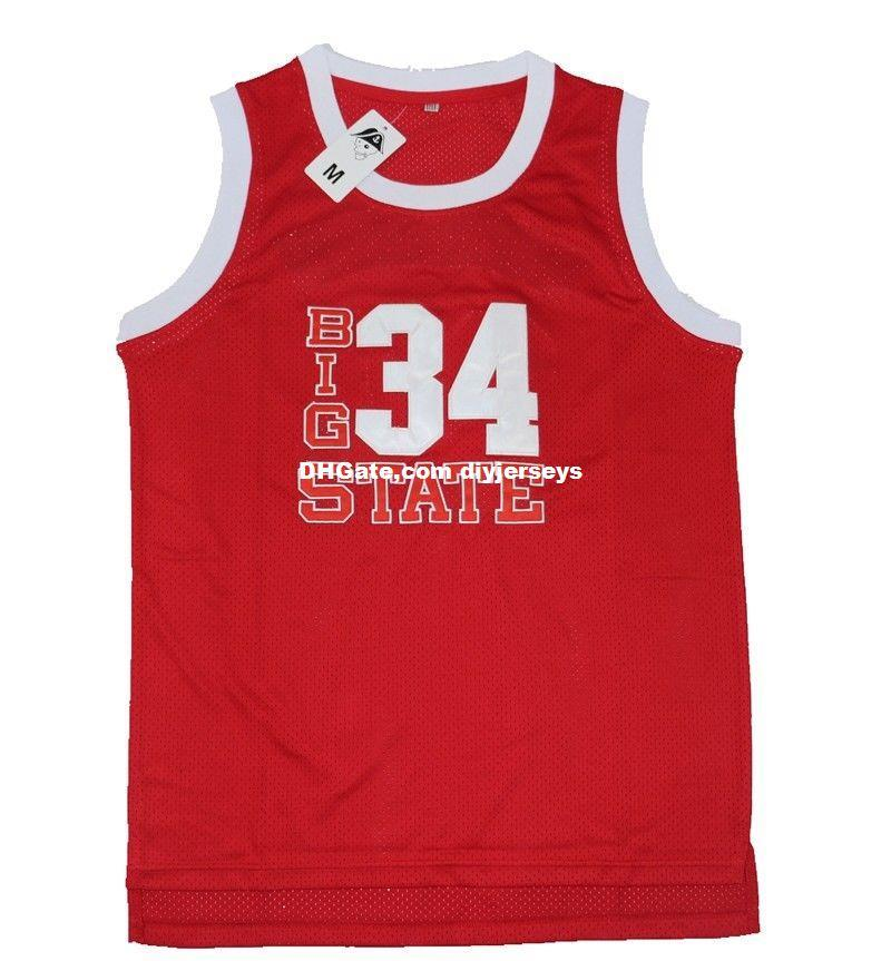 Cheap Customize Lincoln 34 Jesus Shuttlesworth Jersey Big State He Got Game  Basketball Jerseys Red XS 5XL UK 2019 From Diyjerseys 274a27000