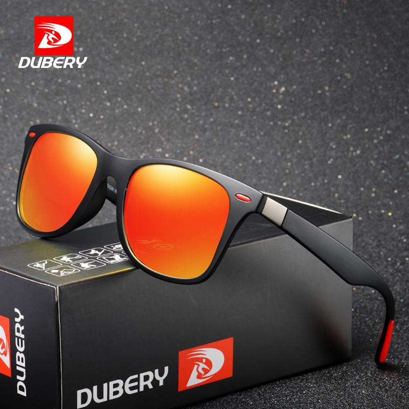 6261d975a8 DUBERY Vintage Sunglasses Polarized Men S Sun Glasses For Men Square Shades  Driving Black Oculos Male Model 4195 Designer Eyeglasses Womens Sunglasses  From ...