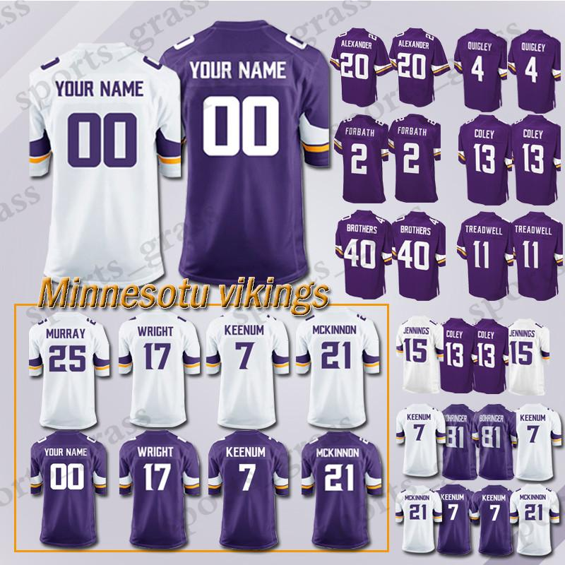 best cheap 6db44 dce49 custom Game Minnesota Viking Jersey 82 Rudolph 99 Danielle Hunter 28 Adrian  Peterson 97 Everson Griffen 54 Kendricks 56 Doleman Jerseys