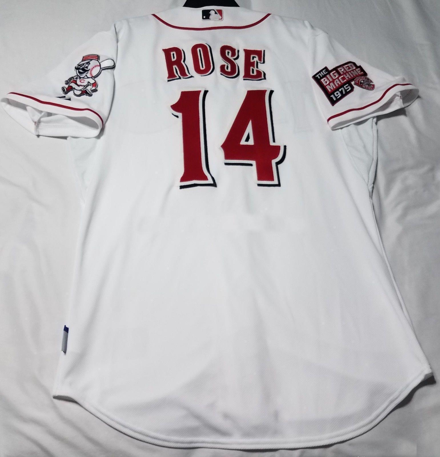 b483e5384b1 Cheap Wholesale CINCINNATI PETER ROSE COOL BASE Jersey Stitched Customize  Any Number Name MEN WOMEN YOUTH Vintage Jersey Wholesale Cheap Peter Ros  Online ...