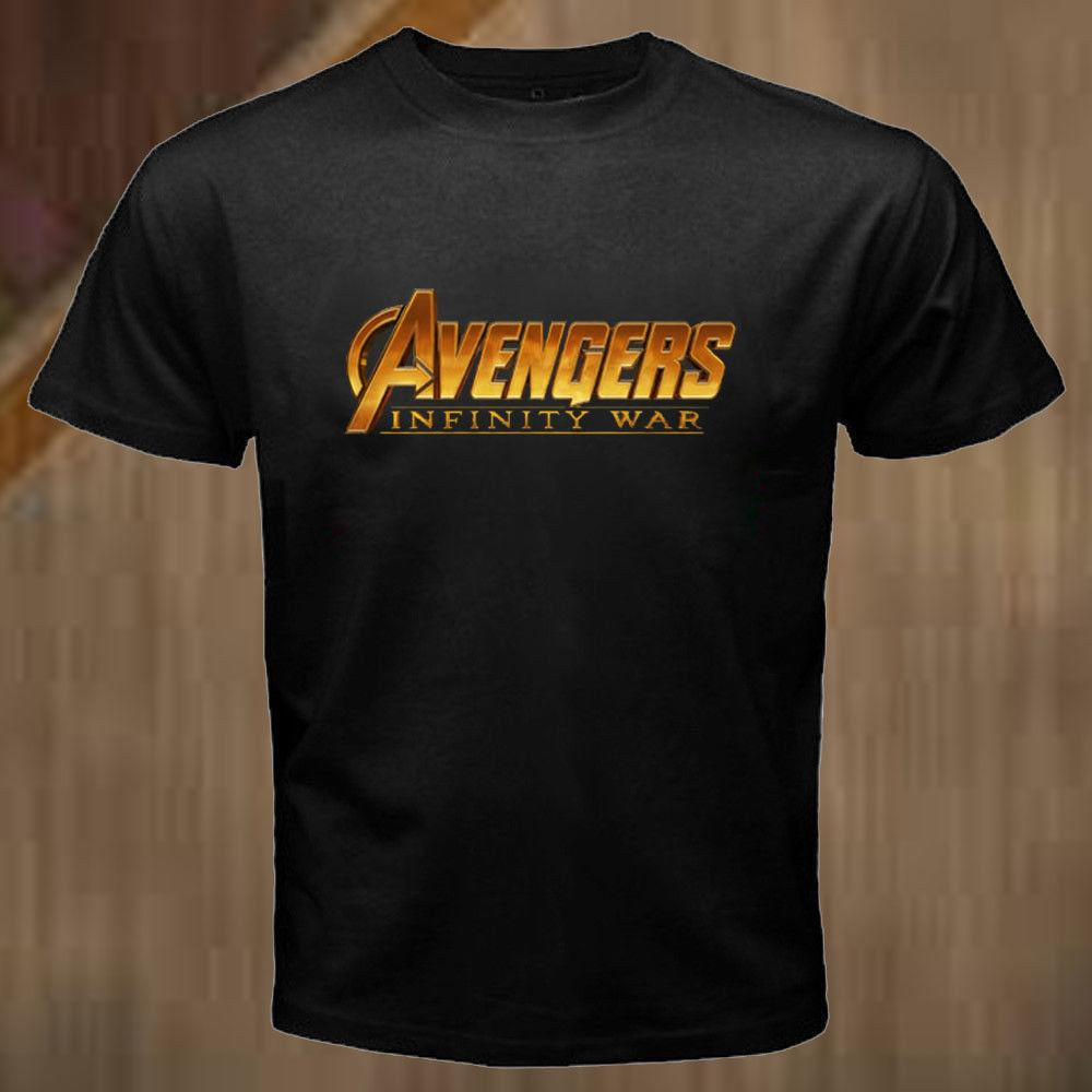 1c7868d8 New Marvel's Avengers Infinity War Logo T-Shirt for Men's Funny free  shipping Unisex Tshirt top