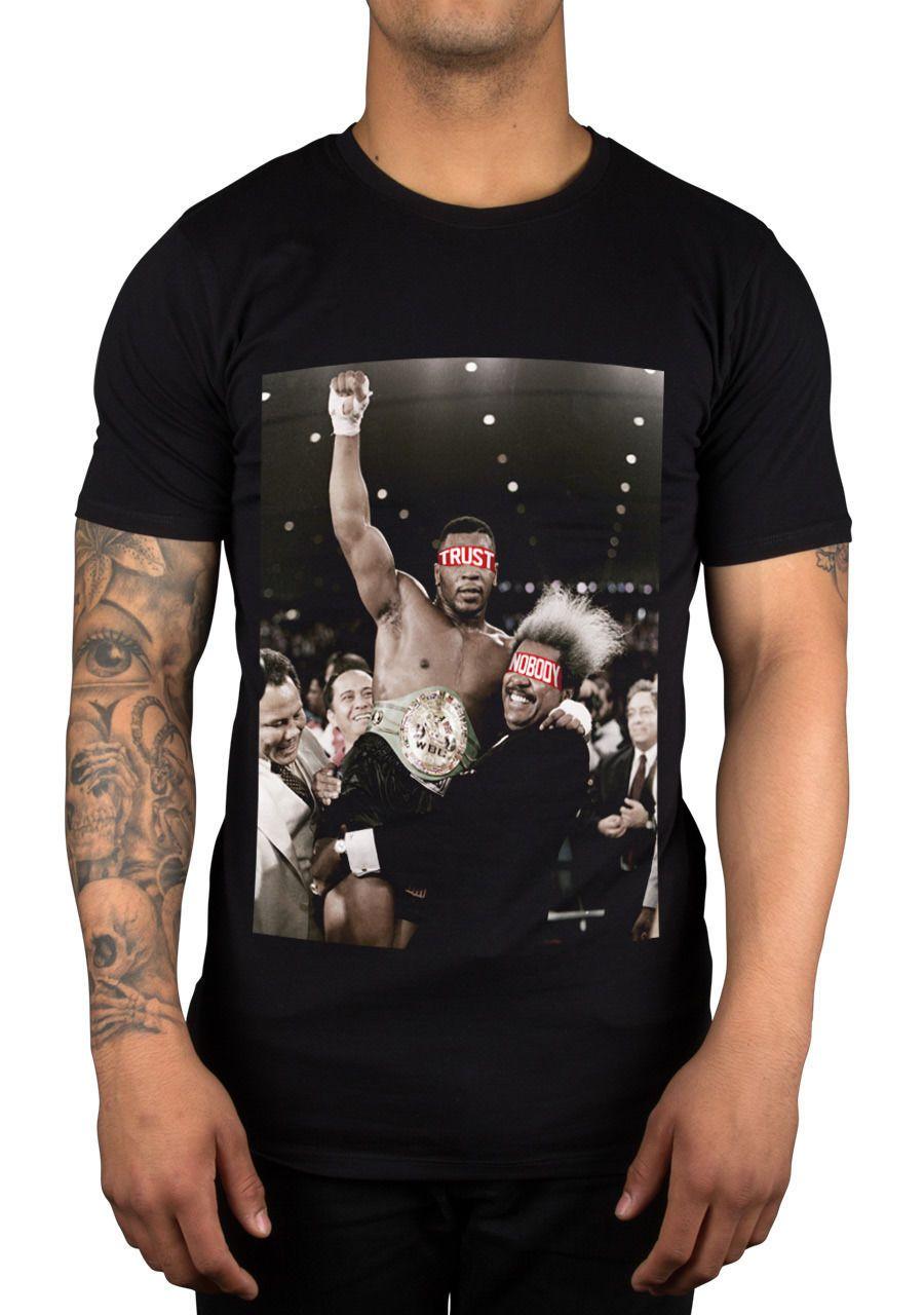 ad2b540a8b80 Acheter Iron Mike Don King Trust Personne T Shirt Légende Hommes Unisexe  Michael Gerard Tyson Taille Discout Chaud Nouveau Tshirt Top De  11.01 Du  Fivecup ...