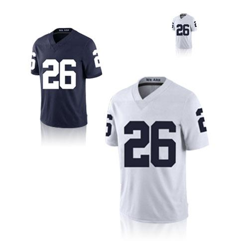 new products 8e16e 4942b 26 Saquon Barkley College jersey NCAA Penn State Nittany Lions 18 19 NEW  Rose Bowl Jerseys TOP quality
