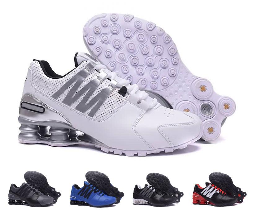 plutôt sympa 1d43f 61f6f Cheap Sale Mens Shox Avenue Outdoor Sport Trainers Man Shox Leather  Comfortable Running Shoes Walking Outdoor Zapatillas Tn Sneakers