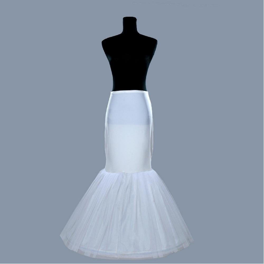 Hot Sale Cheap 2019 Mermaid Wedding Petticoat Bridal Accessories Underskirt Crinoline Petticoats for Wedding