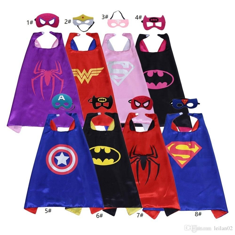 Birthday Goodie Bags For Adults Ideas Image Of Bag School 4 Year Olds Source Good Quality Double Layer Superhero Cape Kids 1 Years Old