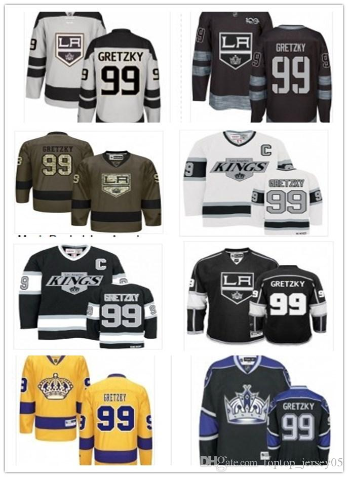 huge selection of 6de22 7fd89 can Los Angeles Kings Jerseys #99 Wayne Gretzky Jerseys  men#WOMEN#YOUTH#Men's Baseball Jersey Majestic Stitched Professional  sportswear