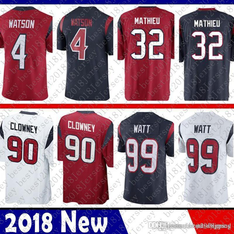 c9284c3f1 Limited Houston 4 Deshaun Watson Jersey Texans 32 Tyrann Mathieu 90 ...
