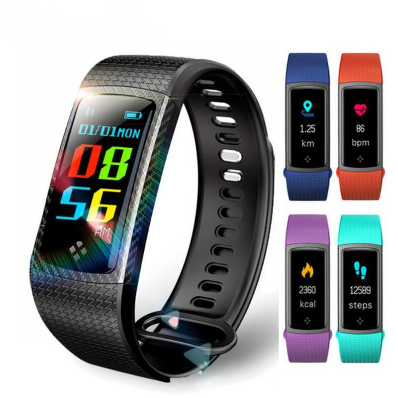 S9 Smart Bracelet Wristband Fitness Tracker Heart Rate Monitor Blood  Pressure Watch Sleep Monitor Waterproof Resistance for IOS Android