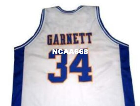 the best attitude 8a1ea 3d39d Free Shipping#34 Kevin Garnett Jersey, Jersey Garnett Retro high quality  embroidery Jersey or custom any name or number jerseys