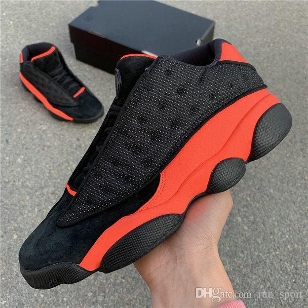 2696cb9468f95 Compre Clot X 13 Low Black Infrared 23 Zapatos De Baloncesto De Alta  Calidad Para Hombre 13s INFRA BRED 3M Naranja Zapatillas Deportivas De  Diseñador Con ...