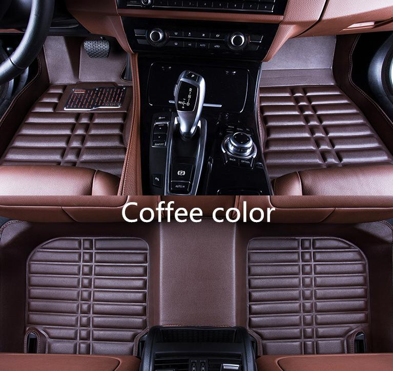Free shipping for Suzuki Swift 2005year-2017year car mat front and rear pad  accessories non-slip waterproof leather carpet car mat