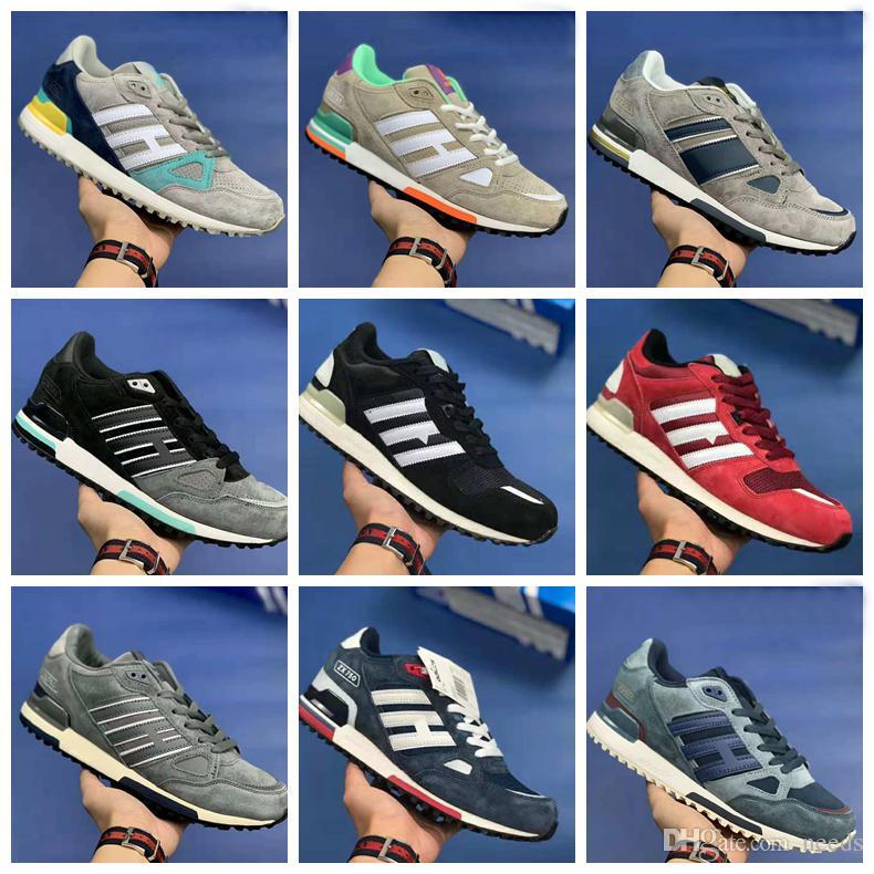 0c461f212669 Originals Zx750 Running Shoes Cheap Fashion Suede Patchwork High ...