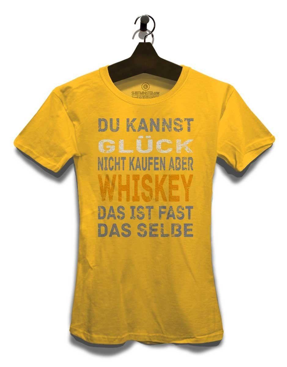best cheap 5d830 981e8 Du Kannst Glueck Nicht Kaufen Aber Whiskey Damen T-Shirt Sprüche Bedruckt  Neu Funny free shipping Unisex Tshirt top