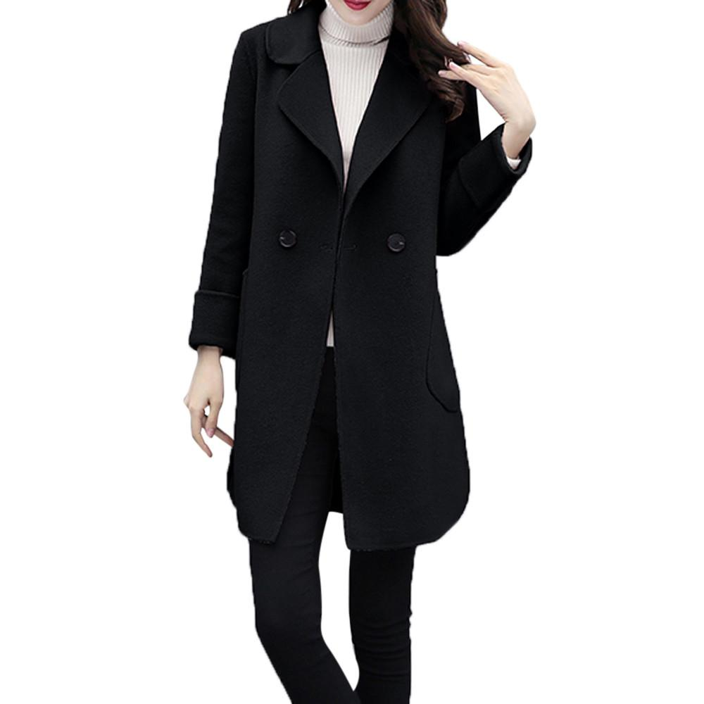 Fashion Design High Quality Womens Autumn Winter Jacket Casual Outwear Parka Cardigan Slim Coat Overcoat Coat Women Winter New