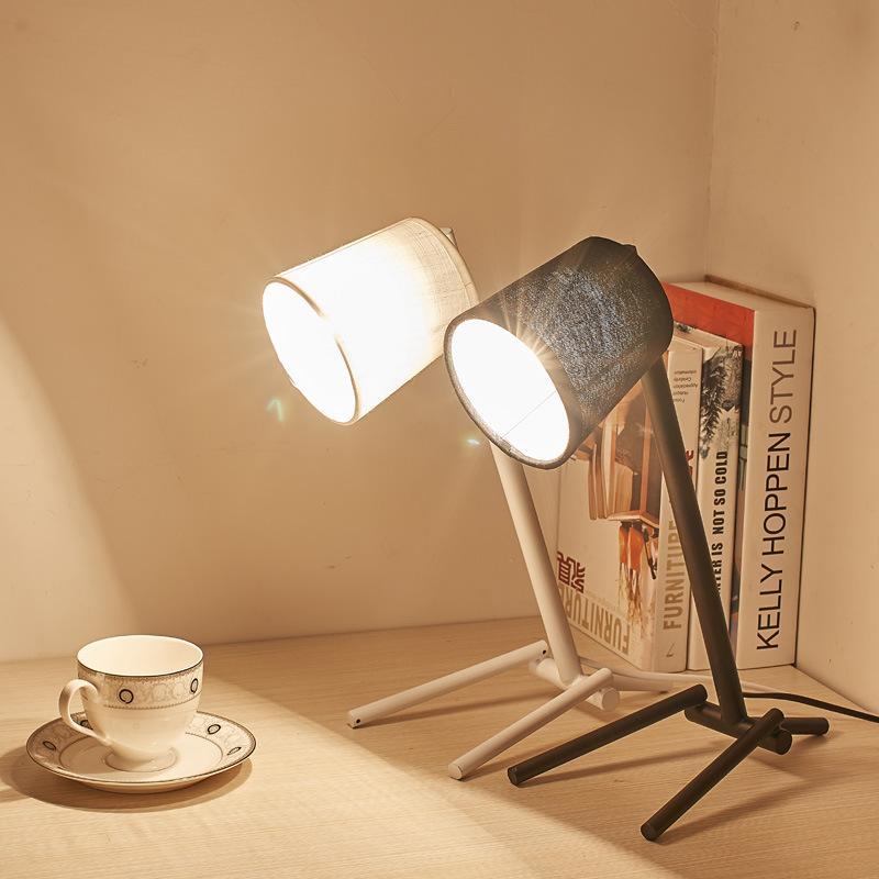 Acquista Lampade Da Tavolo Moderne Di Arte Minimalista LED Comodini ...