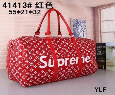 c7b3f29722 AAA 2019 Hot Luxury Brand Men Women Travel Bag PU Leather Duffle Bag ...