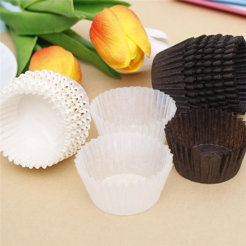 3000 Pcs Small Muffin Cupcake Paper Cups DIY Cake Forms Cupcake Liner Baking Muffin Cases Cup Pastry Tray Cake Mold